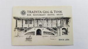Tradita Get & Tosk, Shkoder, Albanien
